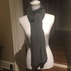 Saint Grace cotton jersey scarf